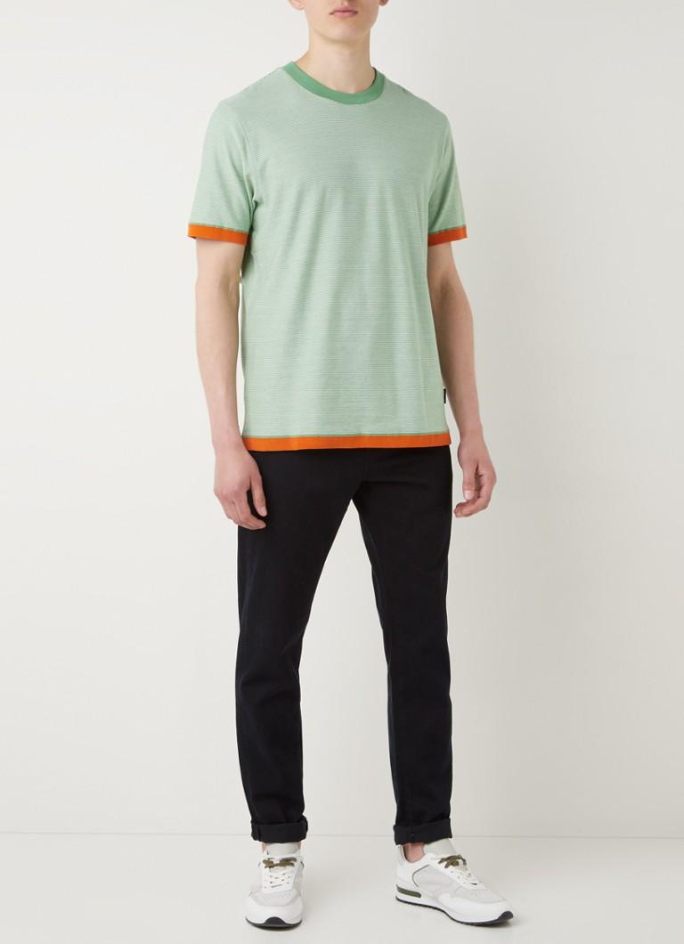 Ted Baker Camoff T-shirt met streepprint