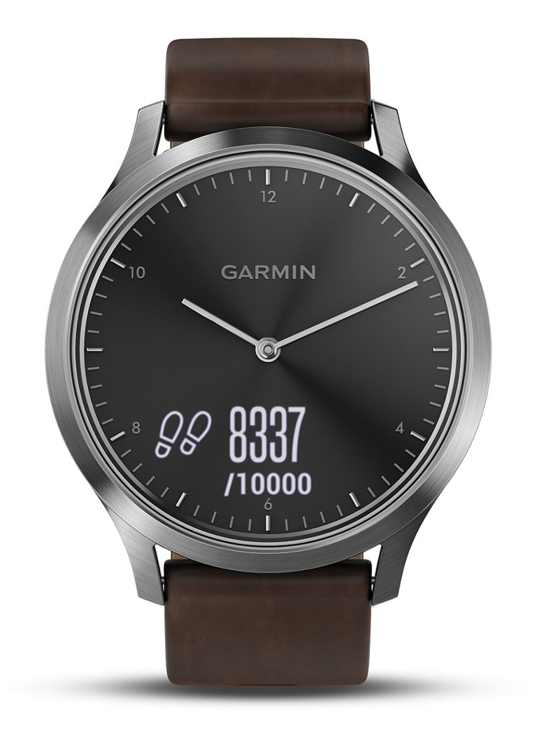 Garmin Vivomove HR Premium, zilver kopen