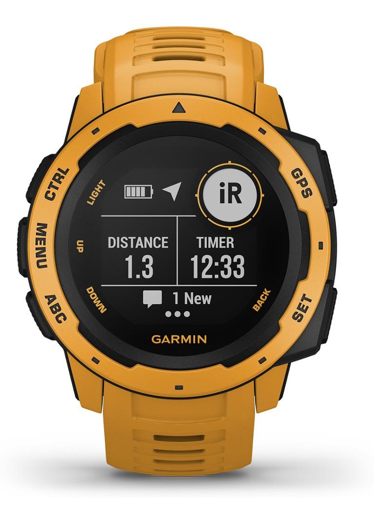 Garmin Instinct, GPS Watch, Sunburst kopen