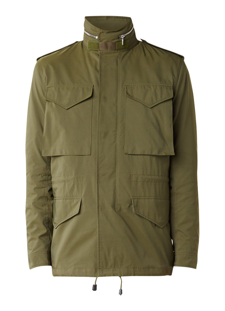 Sandro Field jacket met verborgen capuchon