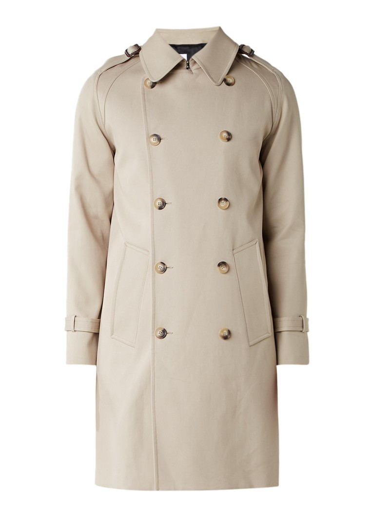 Sandro Double breasted trenchcoat