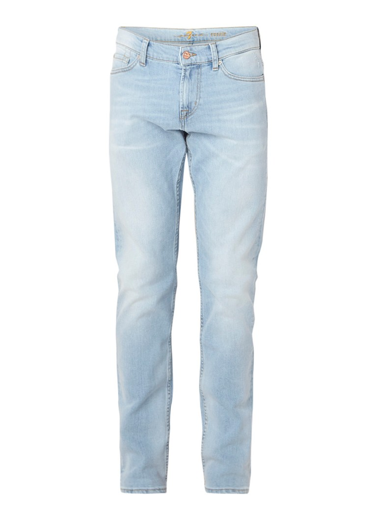 7 For All Mankind Ronnie skinny fit jeans met stretch