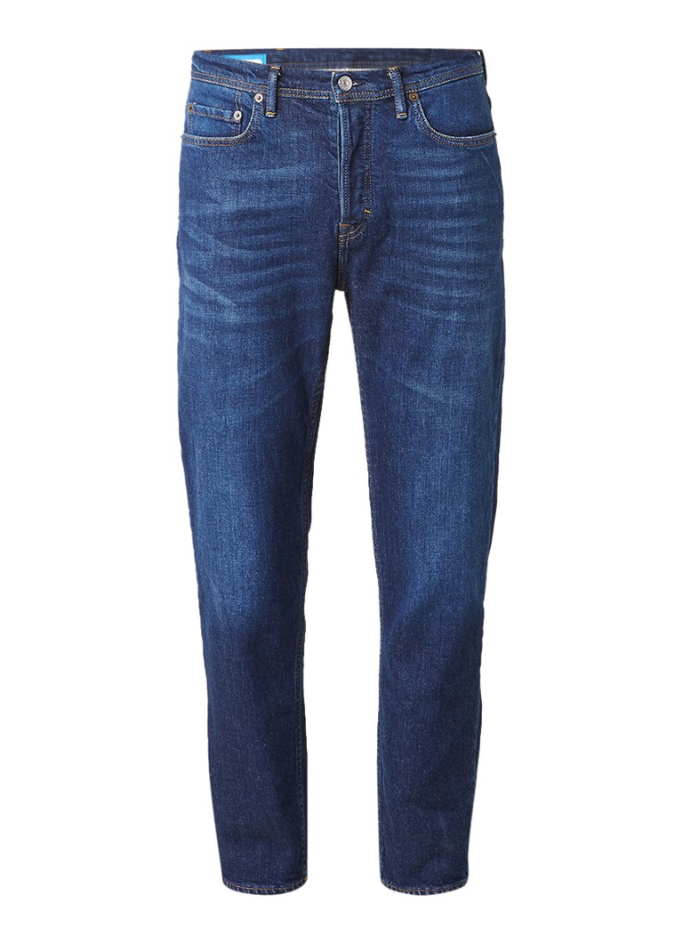 Acne Studios River mid rise jeans met tapered leg