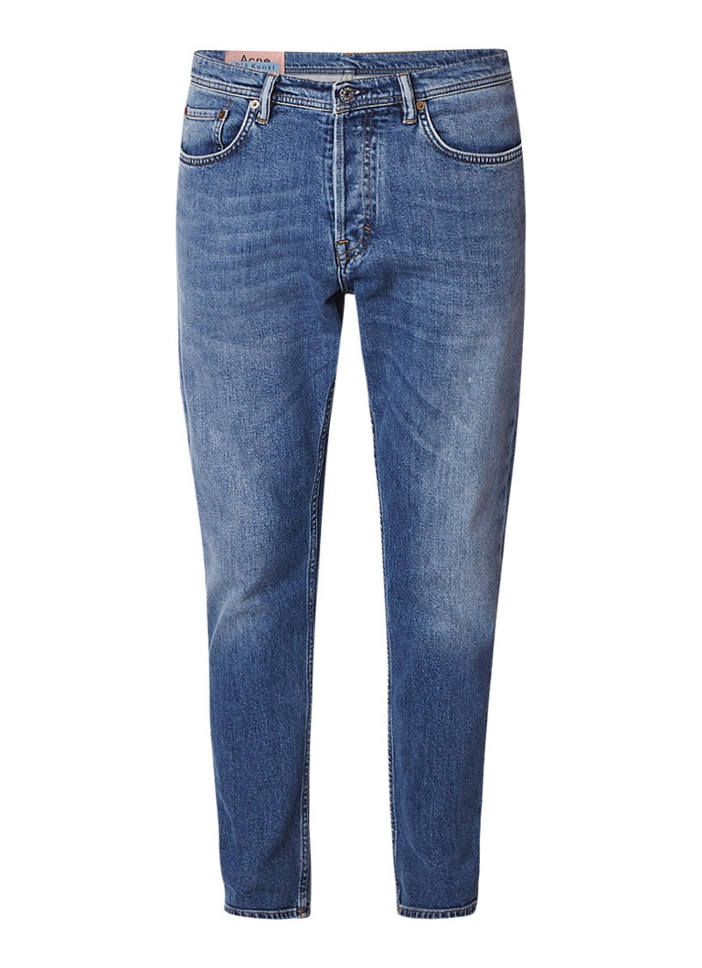 Acne Studios River cropped slim fit jeans