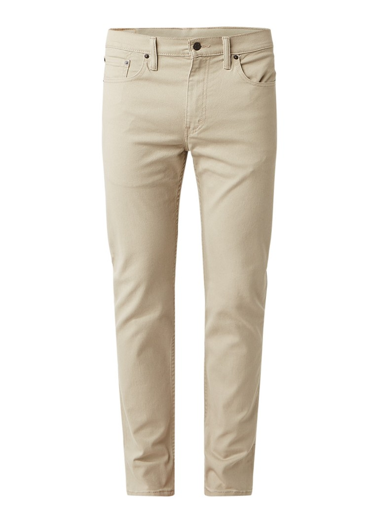 Levi's 502 regular tapered fit jeans met stretch