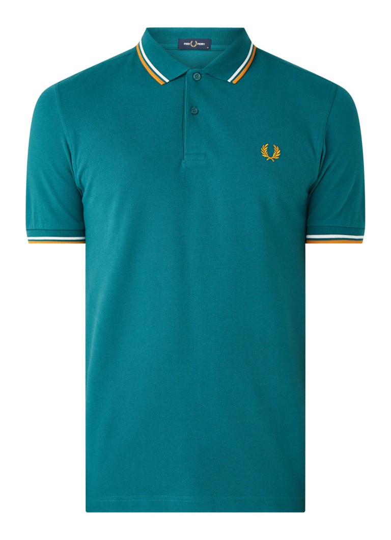 Fred Perry Regular fit polo met getipte boord