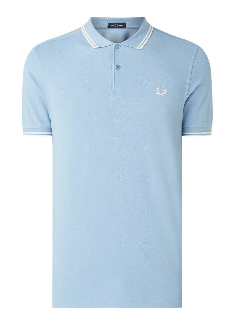 Fred Perry M3600 regular fit polo met getipte boord