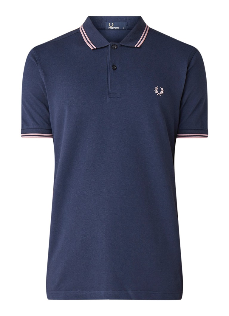 Image of Fred Perry M3600 Polo met getipte boorden