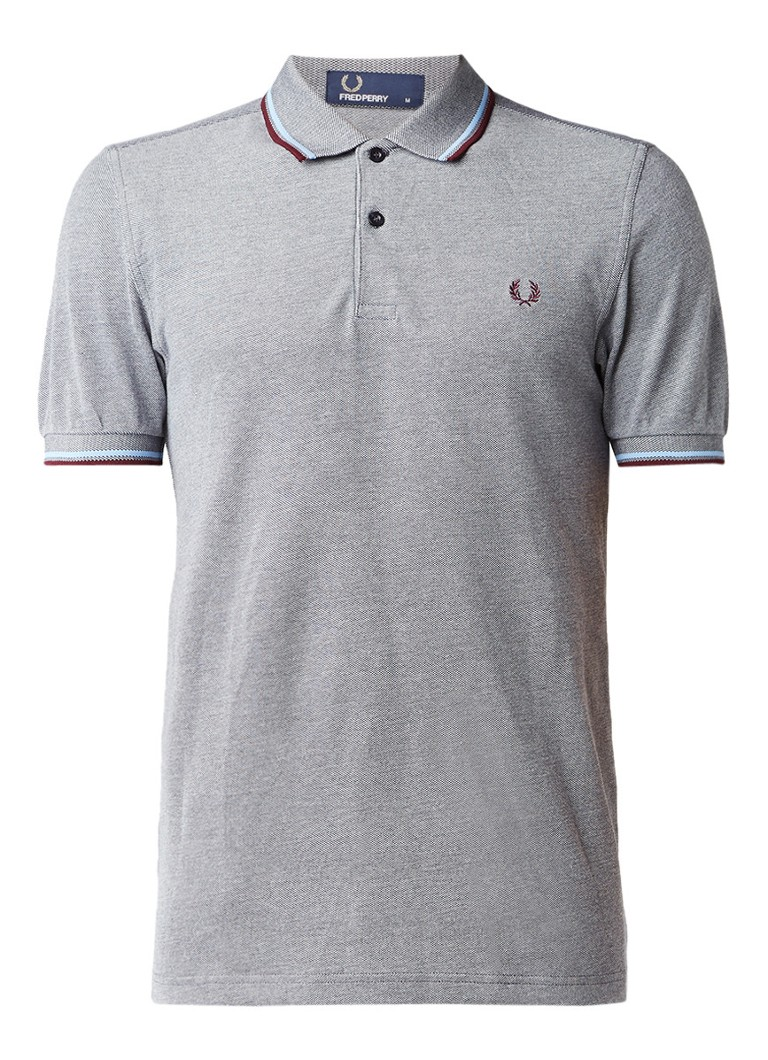 Fred Perry M3600 regular fit polo met getipte details