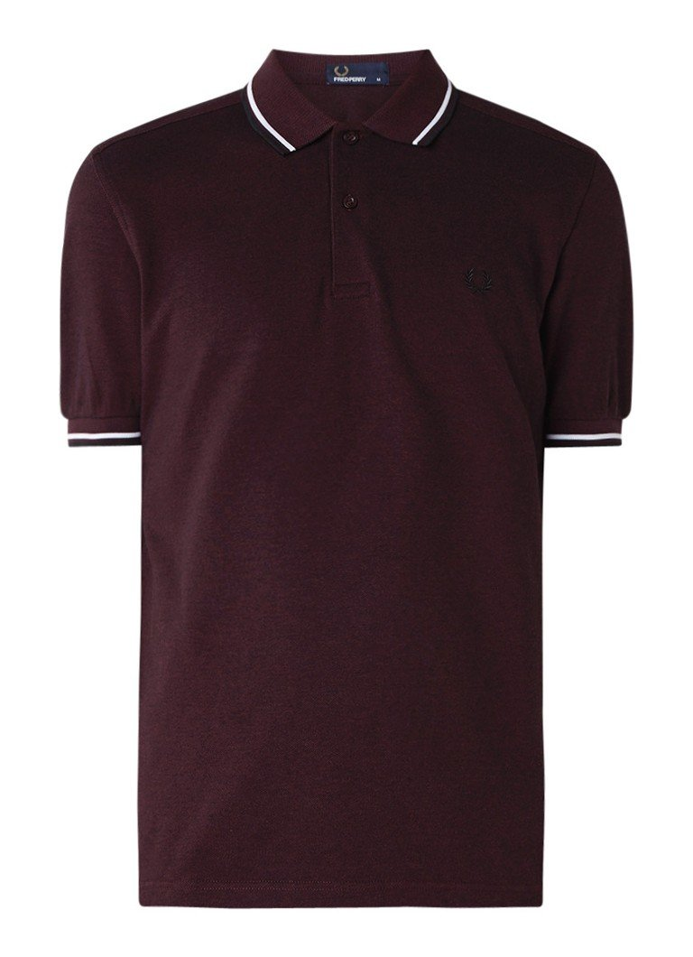 Fred Perry M3600 polo met getipte details