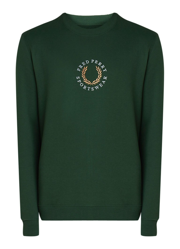 Image of Fred Perry M5514 Sweater met logoborduring