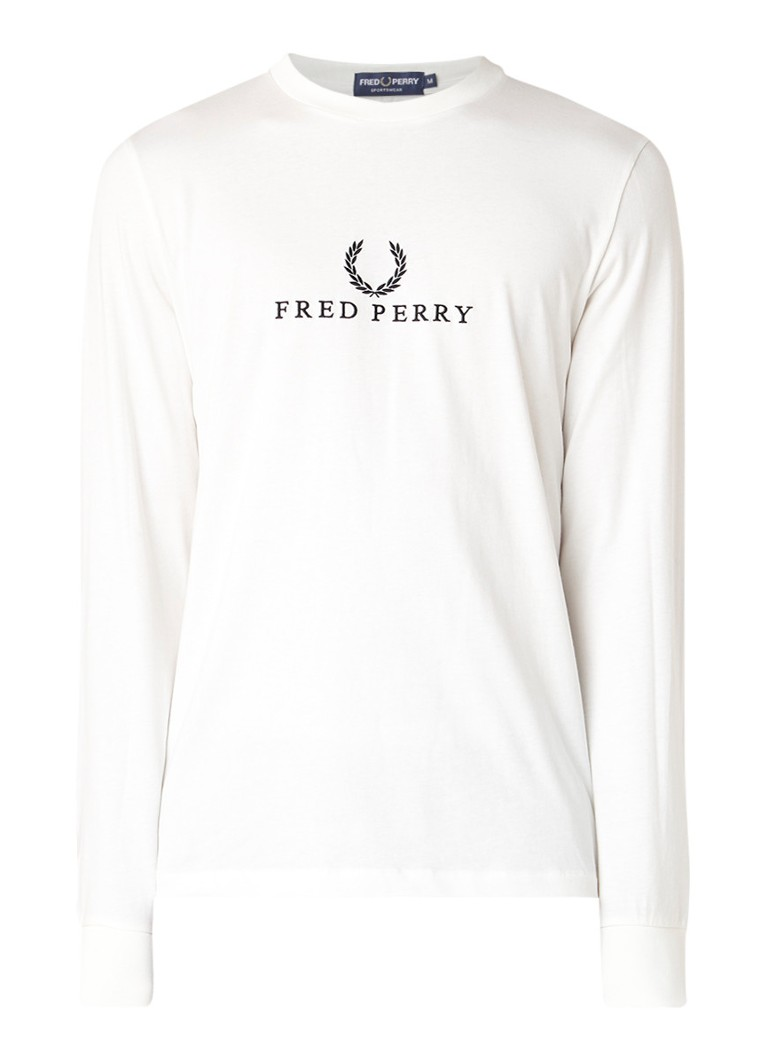Image of Fred Perry M5531 longsleeve met logoborduring