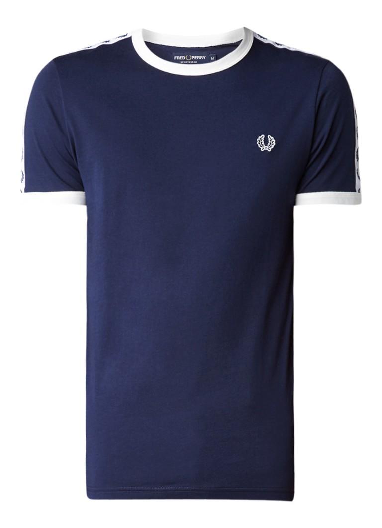 Fred Perry T-shirt met merkembleem
