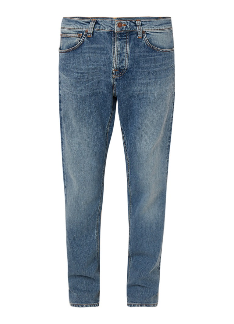 Image of Nudie Jeans Steady Eddie tapered fit jeans