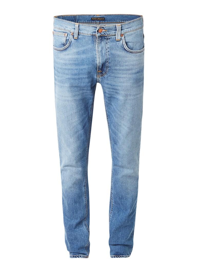 Nudie Jeans Lean Dean mid rise slim fit jeans