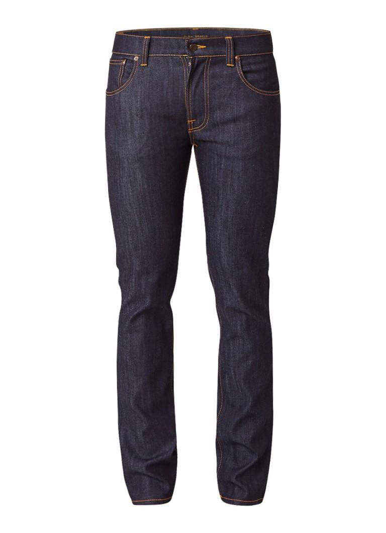 Nudie Jeans Thin Finn ongewassen slim fit jeans