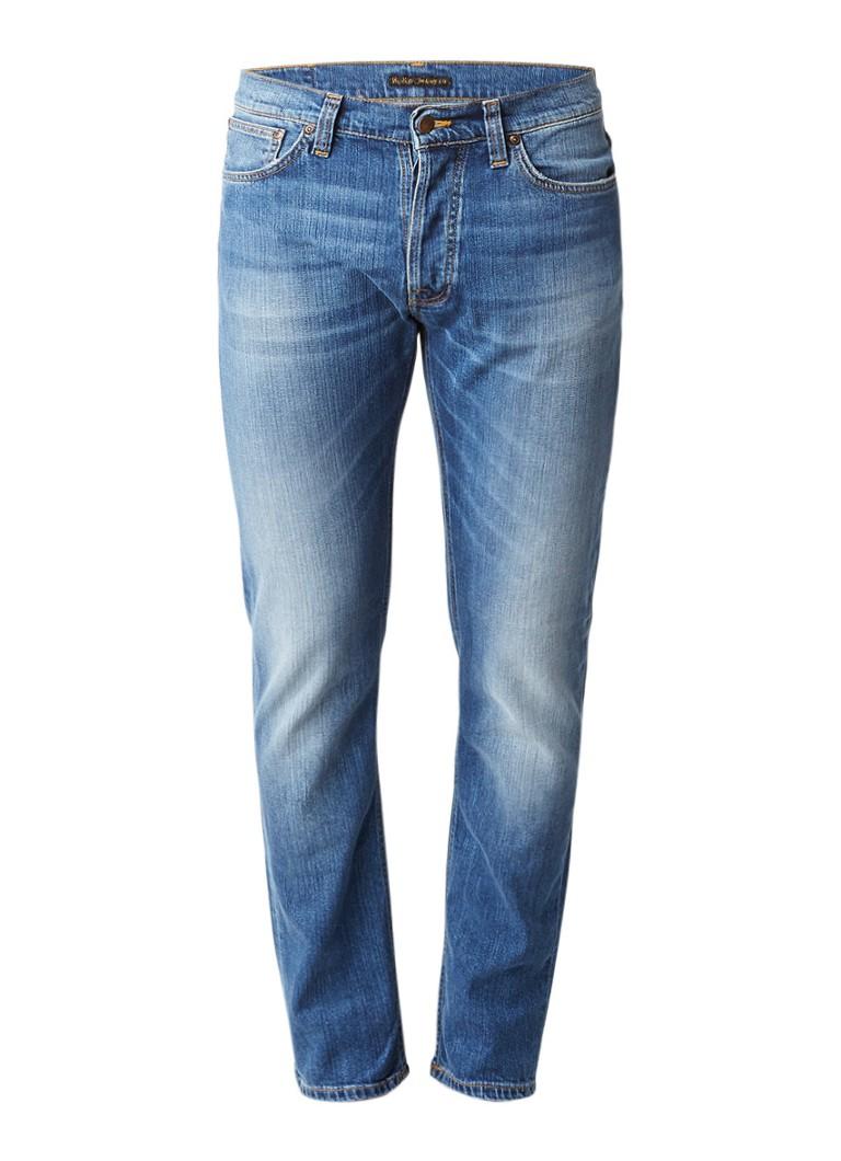 Nudie Jeans Dude Dan regular fit jeans van biologisch katoen