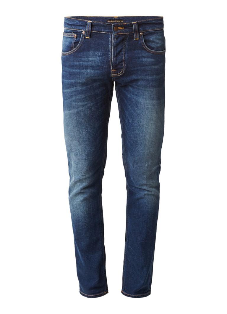 Nudie Jeans Grim Tim mid rise slim fit jeans