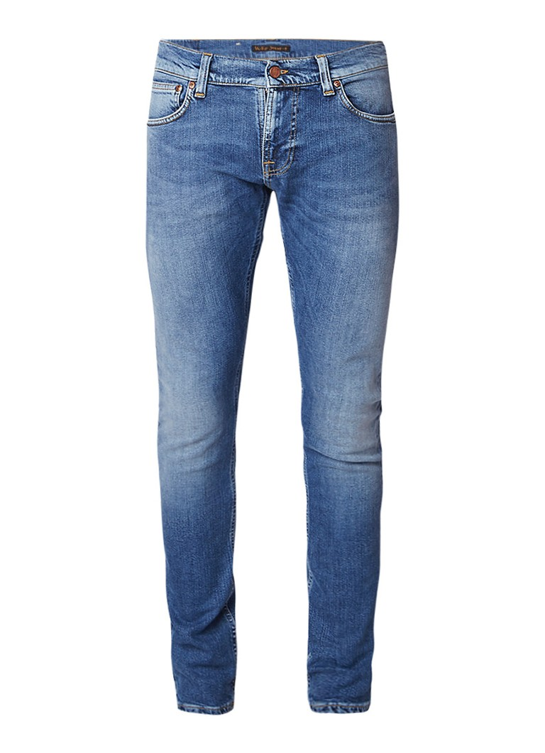 Nudie Jeans Tight Terry low rise skinny fit jeans