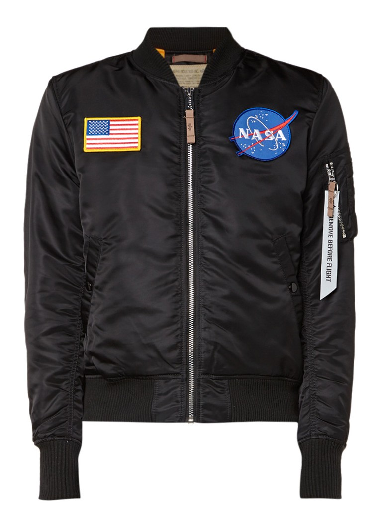 Alpha Industries Nasa Exclusive bomberjack met applicaties