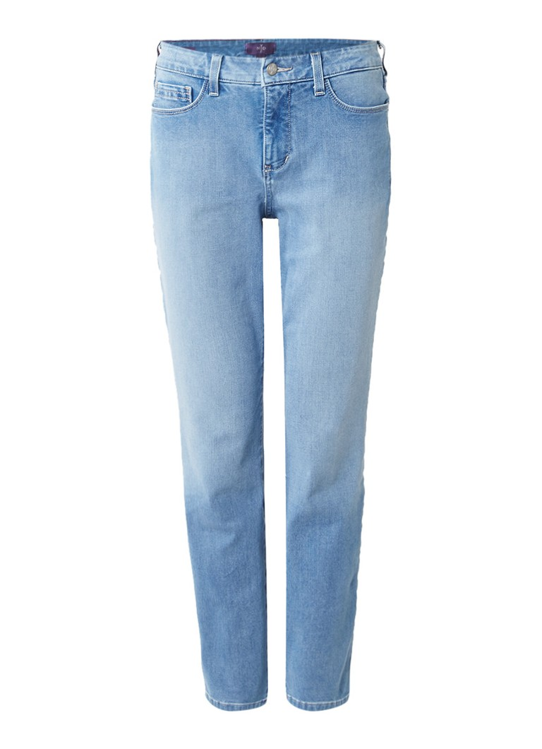 NYDJ Clarissa high rise ankle slim fit jeans met lichte wassing