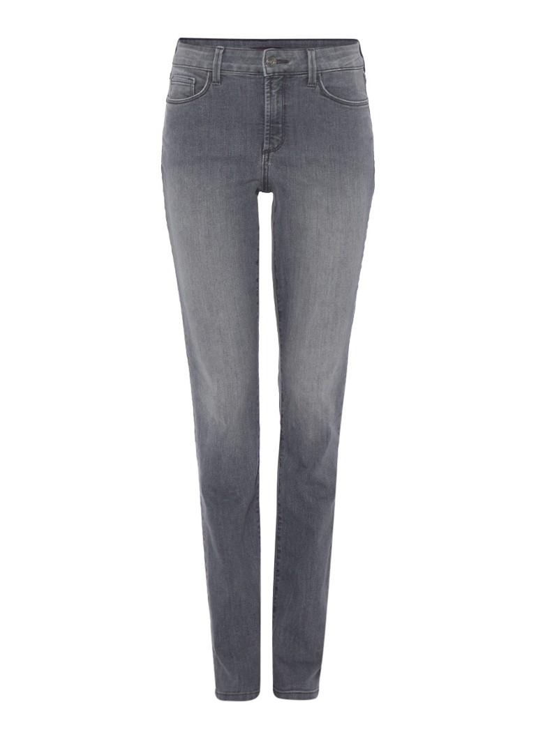 NYDJ High rise slim fit jeans grijs