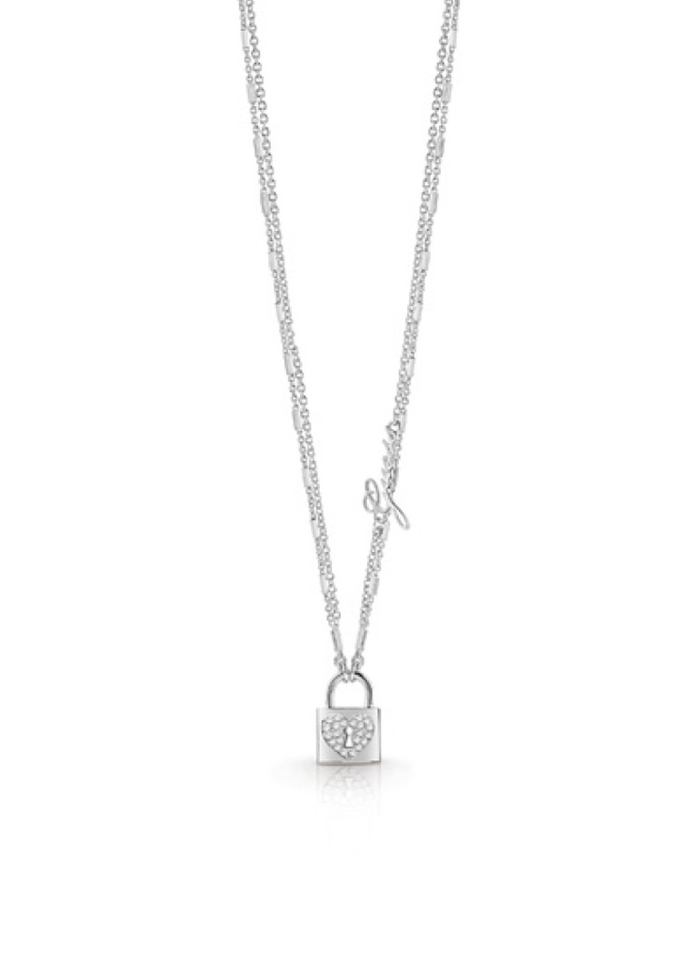 GUESS Ketting Heart Lock UBN85059