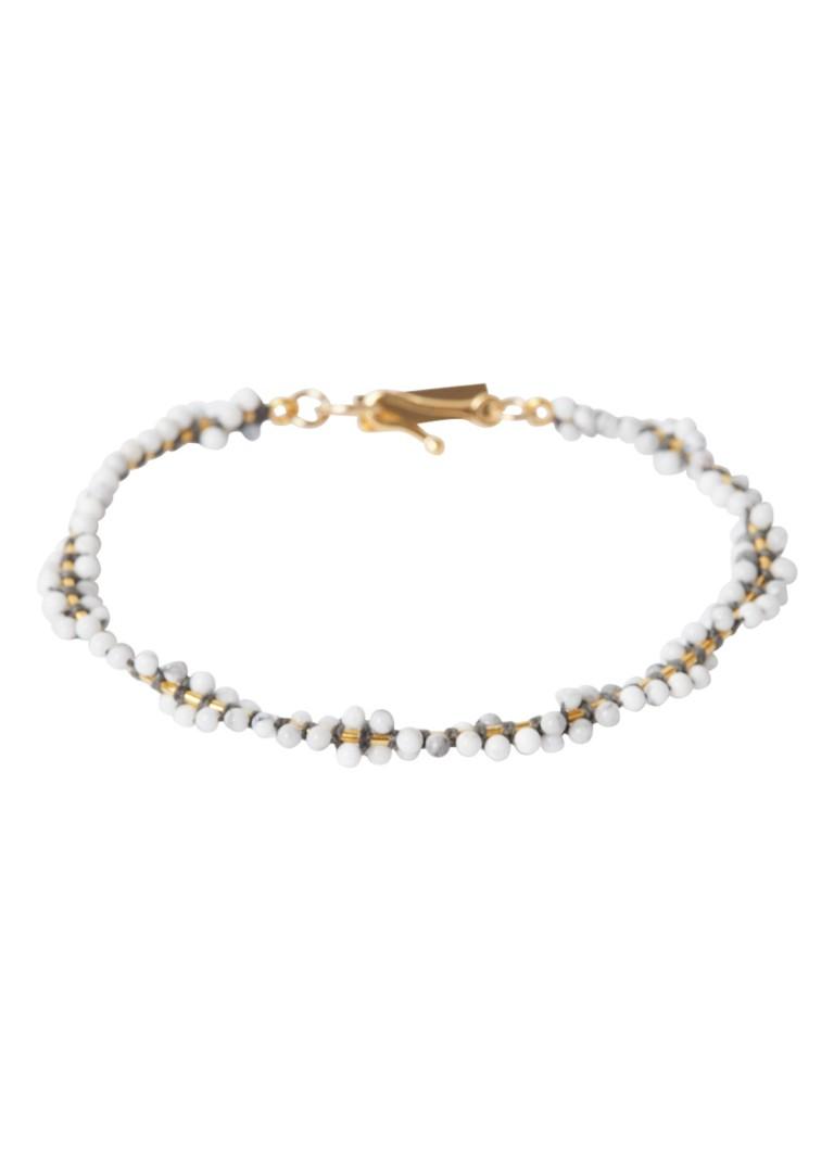 Cesaria armband met kralen