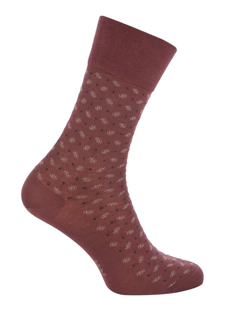Falke Sensitive sokken met dessin