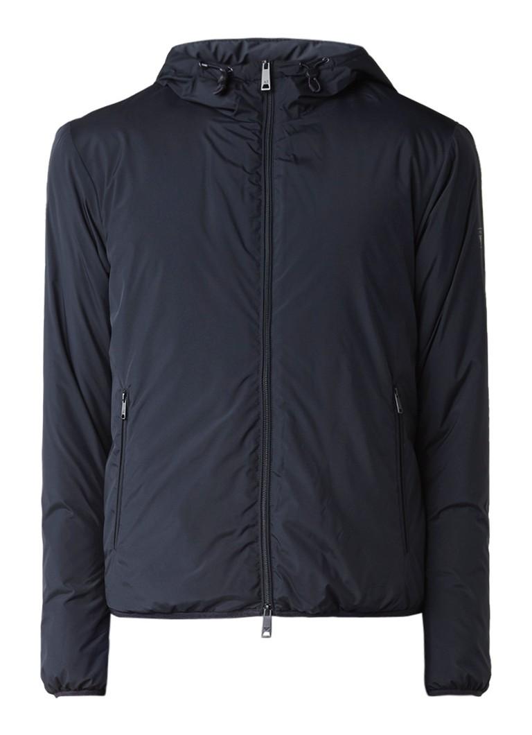Armani Gewatteerde jas met waterafstotende coating