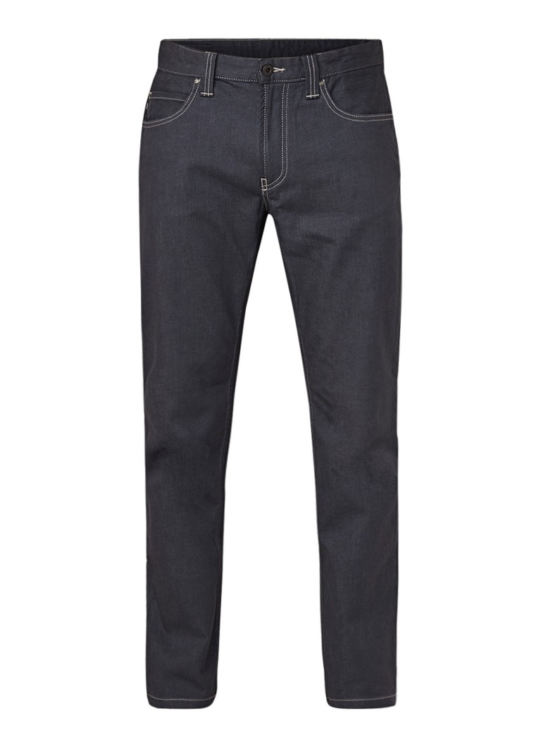 Armani Mid rise straight fit jeans met stretch