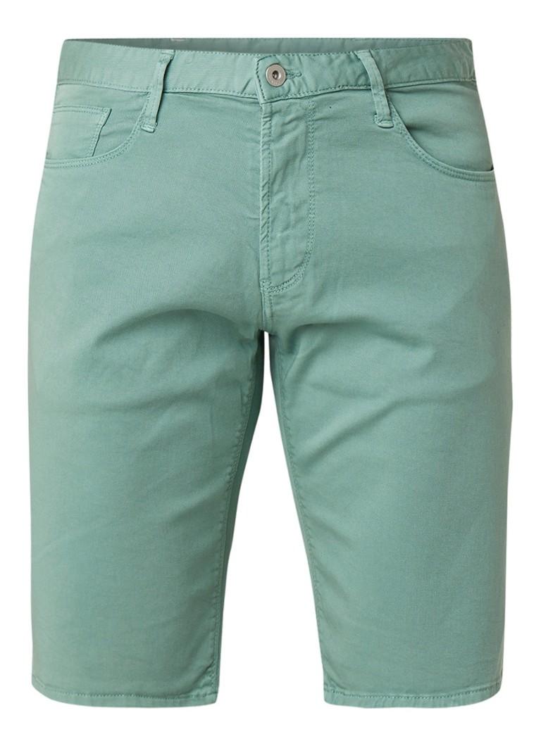 Armani Armani Slim fit 5-pocket shorts met stretch