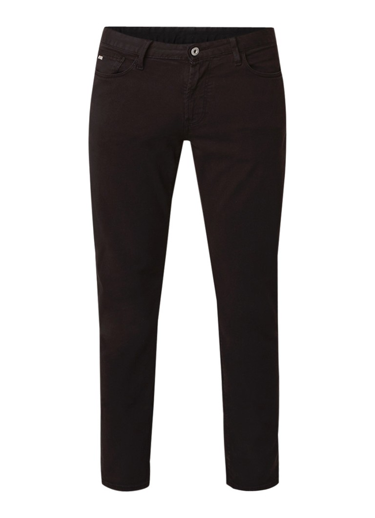 Image of Armani Slim fit 5-pocket jeans met stretch