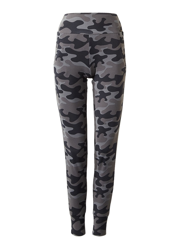 Goldbergh Slim fit sweatpants met camouflage print
