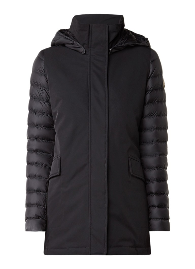 Colmar gewatteerde winterjas zwart