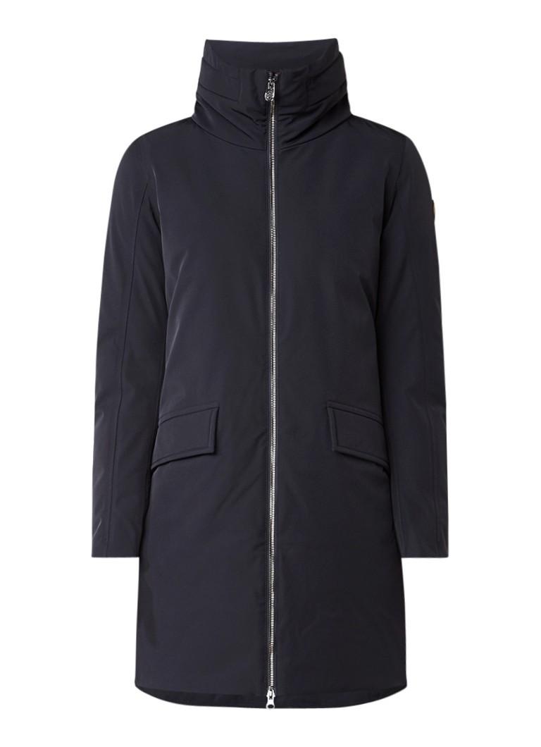 Colmar gewatteerde winterjas donkerblauw