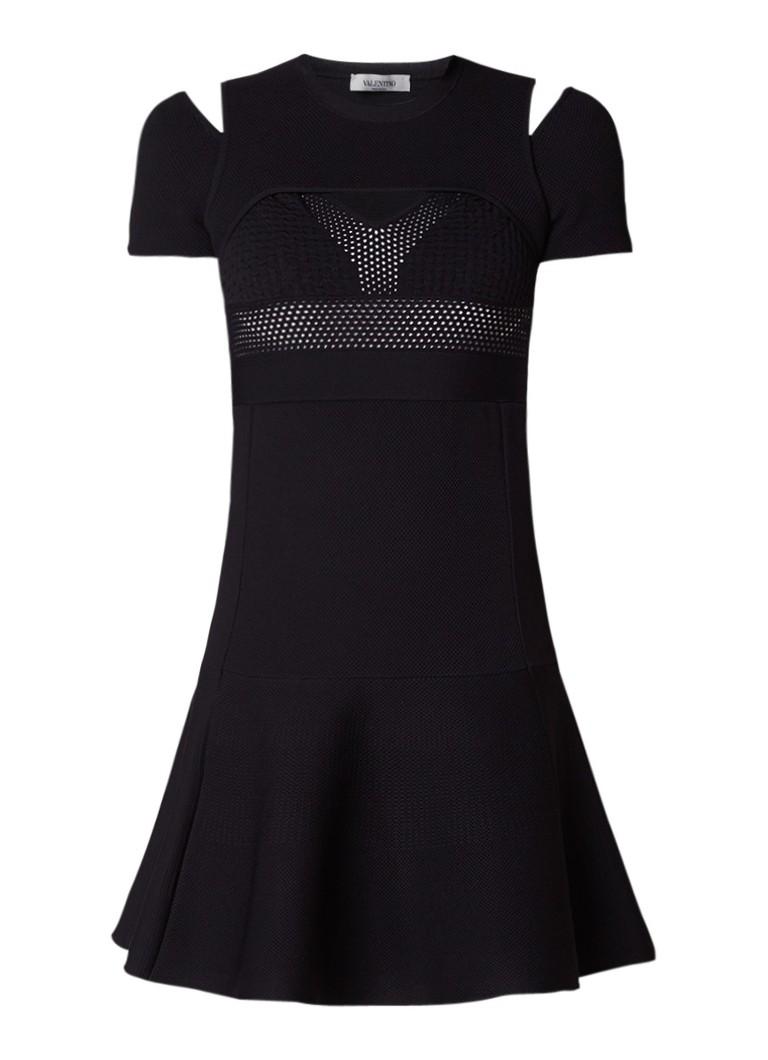 Valentino A-lijn jurk zwart