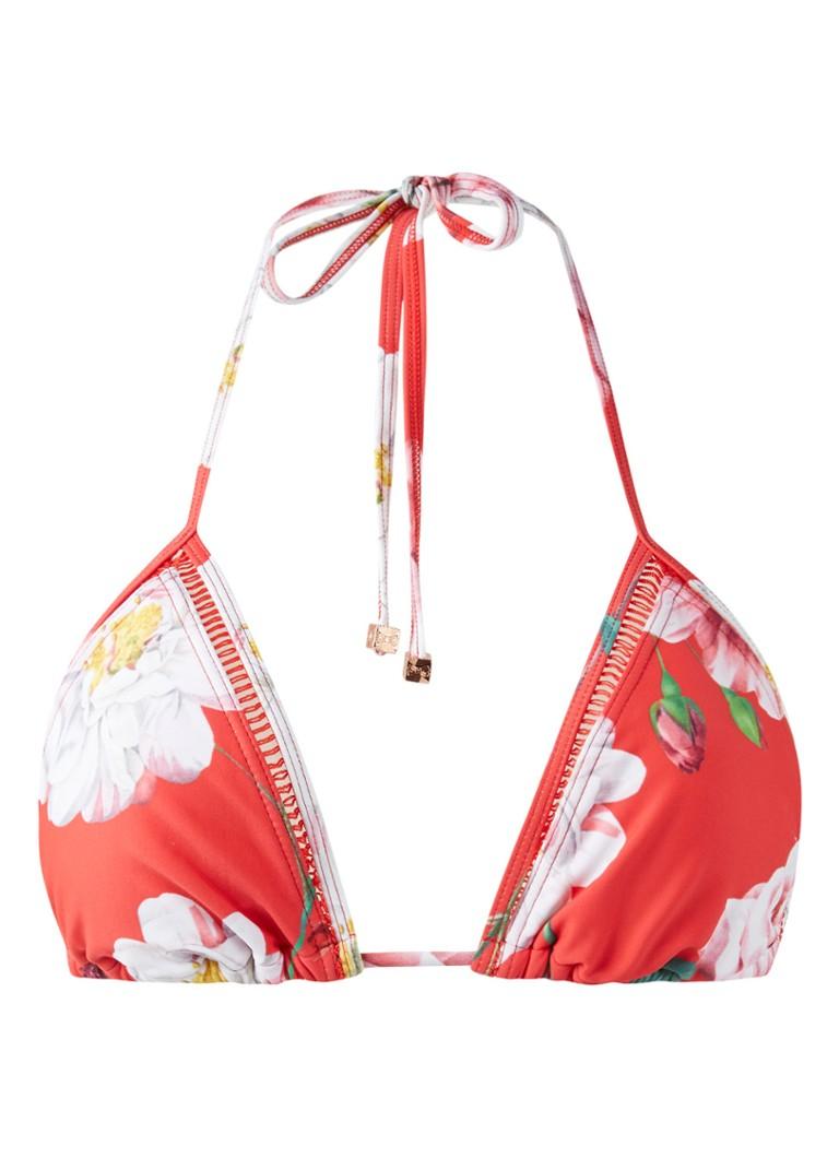 Ted Baker Ceskita triangel bikinitop met bloemendessin