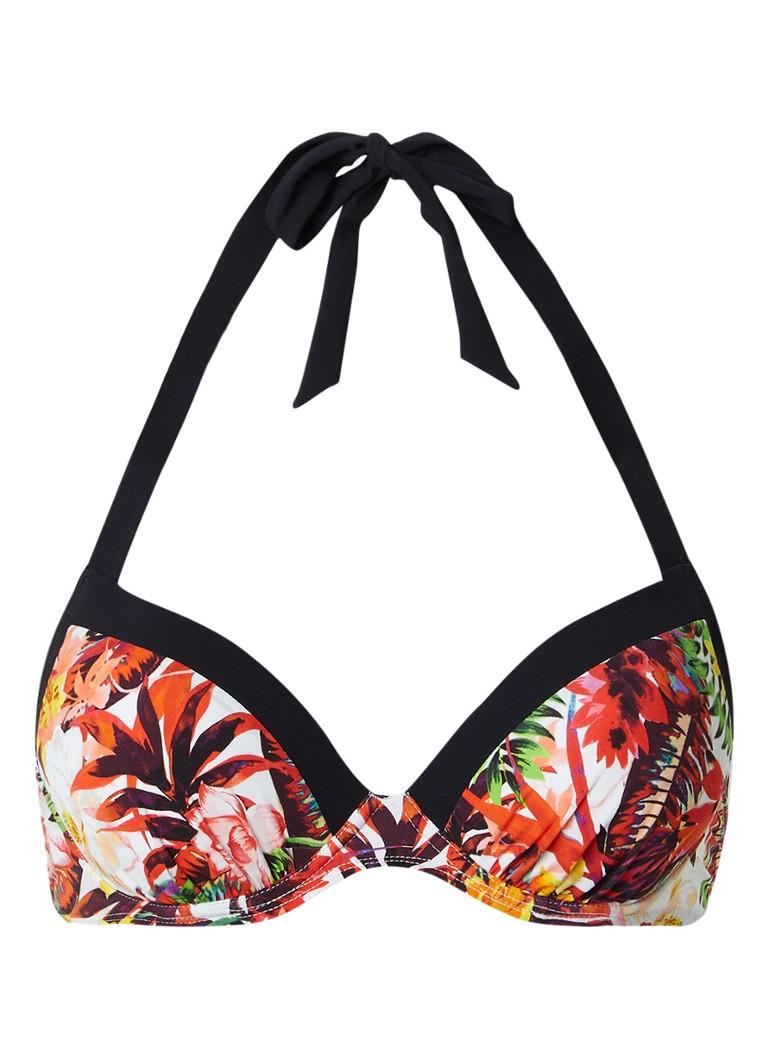 Aubade Summer Lounge push-up halter bikinitop