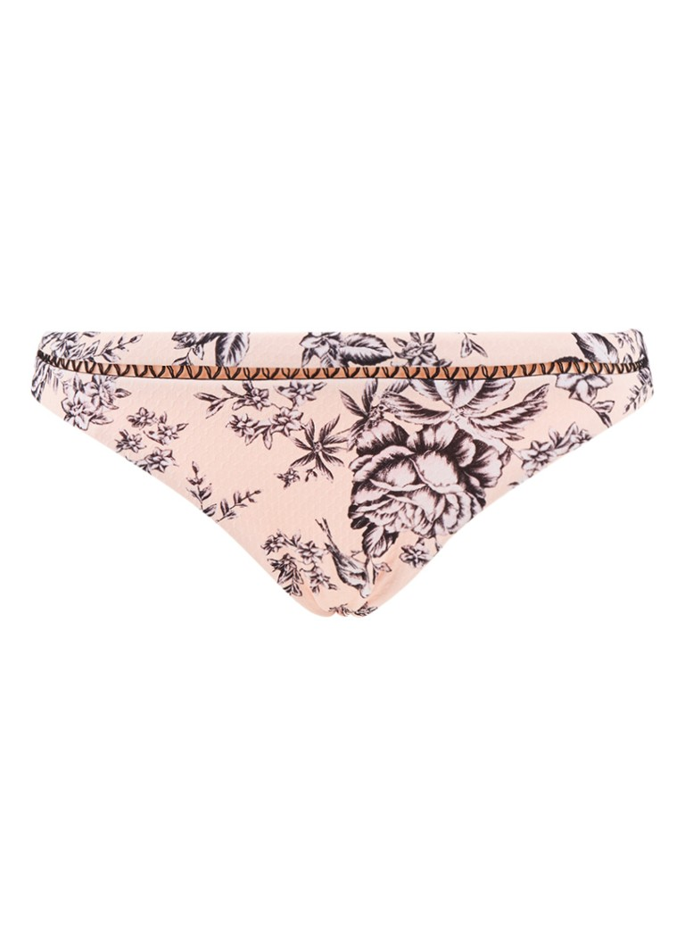 Seafolly Love Bird hipster bikinislip met bloemendessin