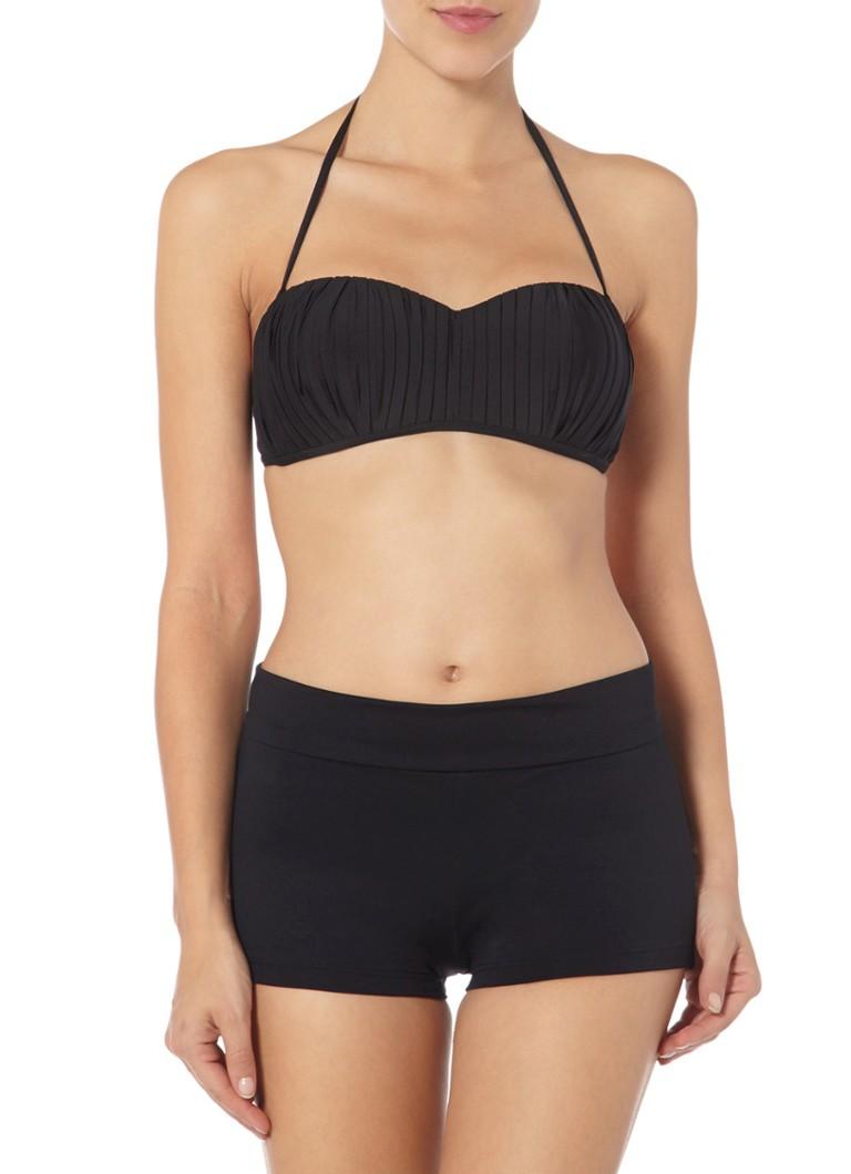 Seafolly Zwart bikinishortje Goddess