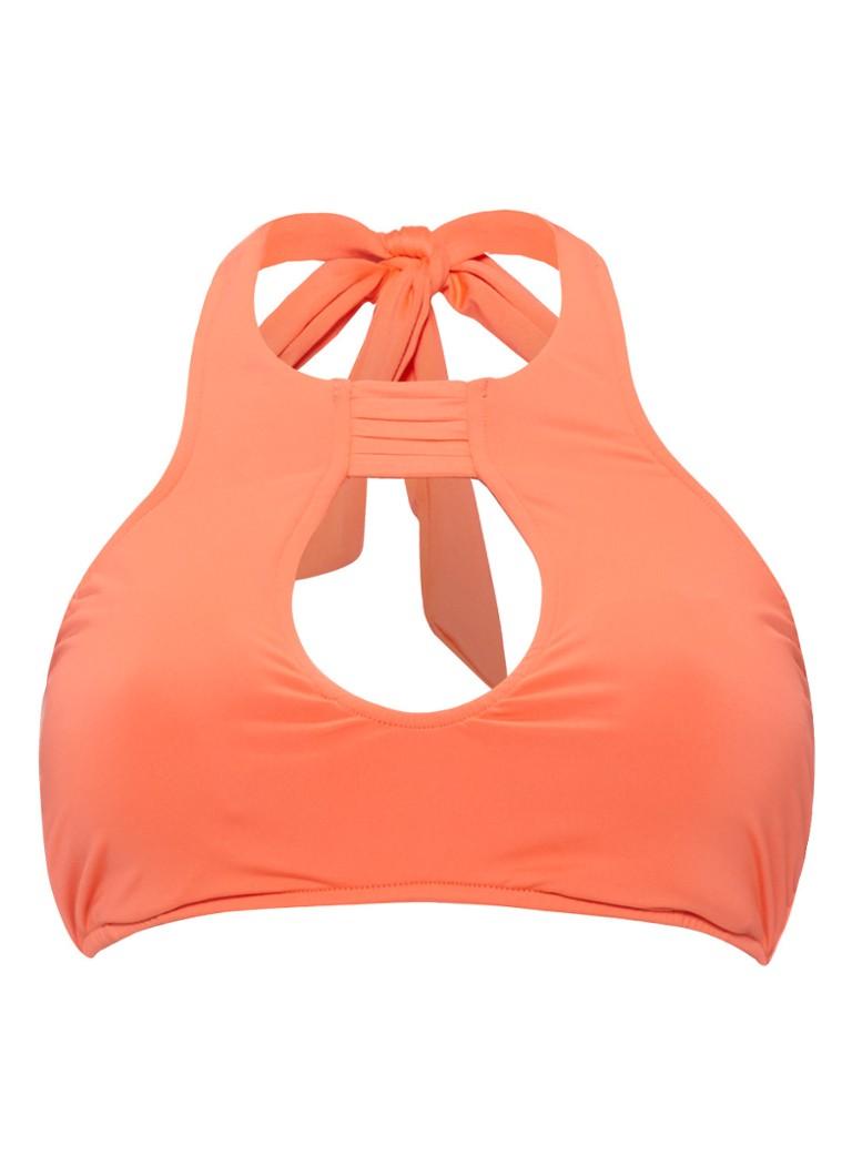 Seafolly GODDESS Bikini top nectarine