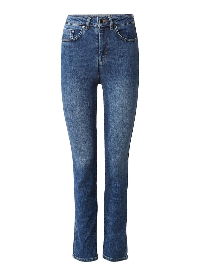 Karen Millen High rise cropped skinny jeans met medium wassing
