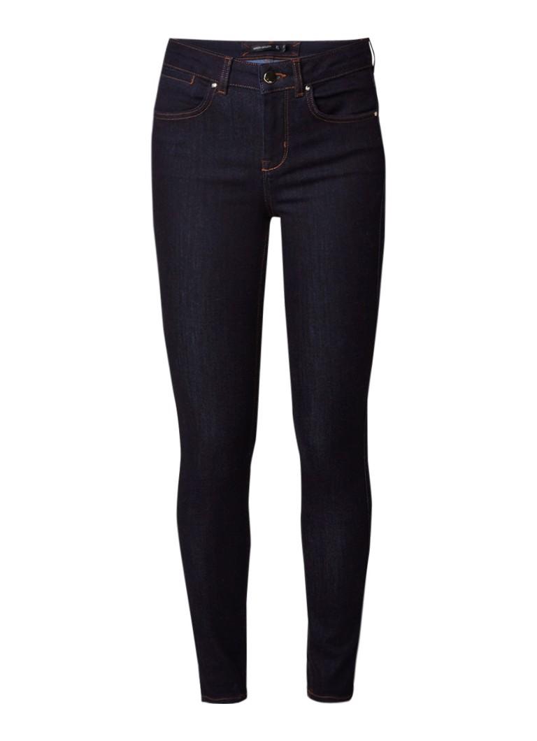 Karen Millen High rise skinny jeans in donkere wassing