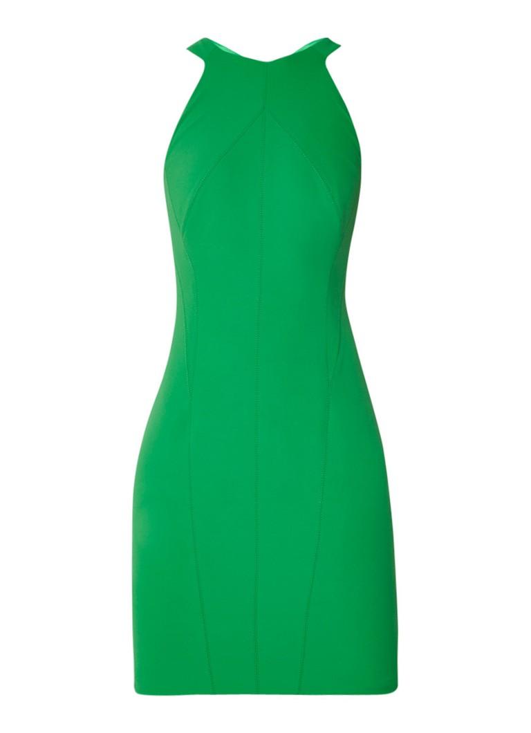 Karen Millen Kokerjurk met rugdecolleté groen