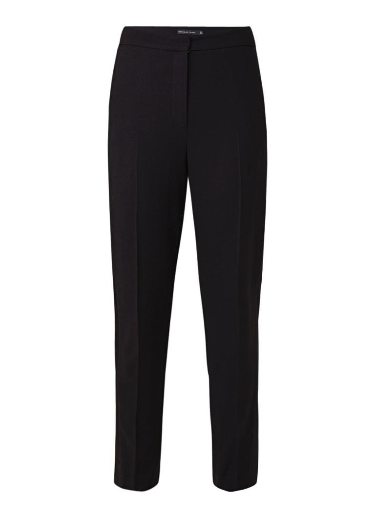 Karen Millen High rise slim fit tuxedo pantalon met bies