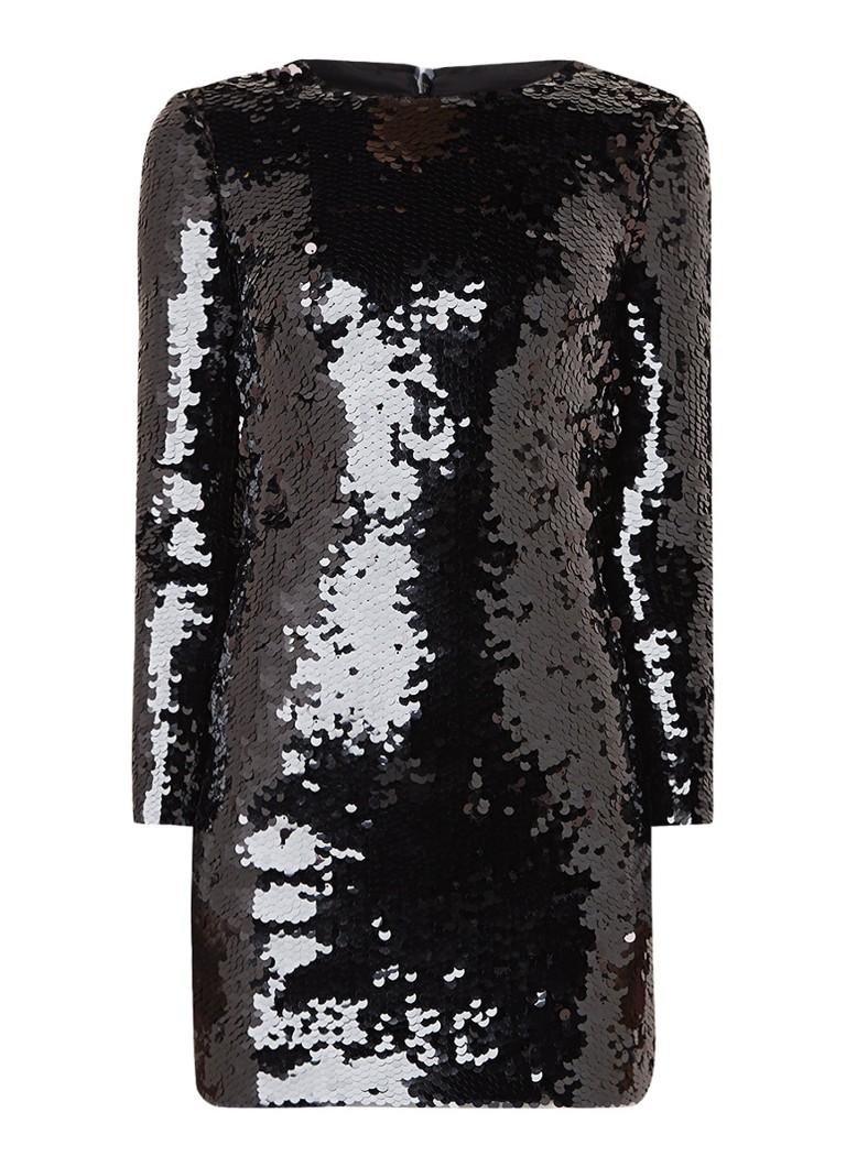 Karen Millen Mini-jurk met pailletten zwart