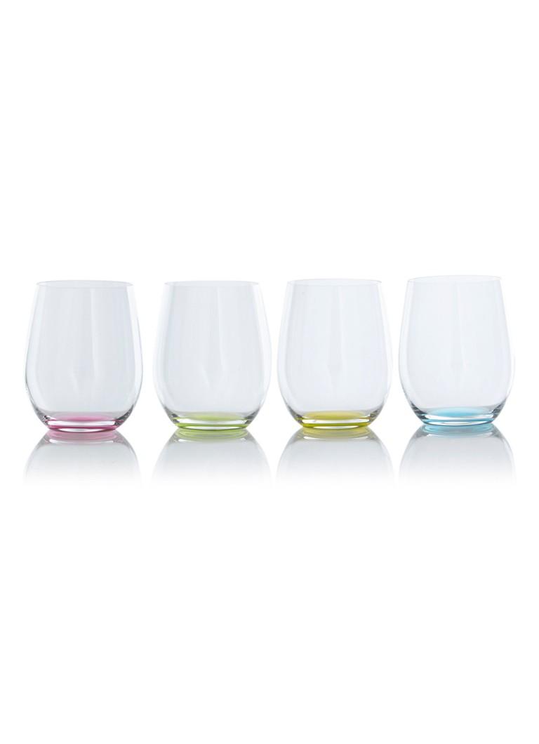 Image of Riedel O' Happy tumbler witte wijnglas set van 4