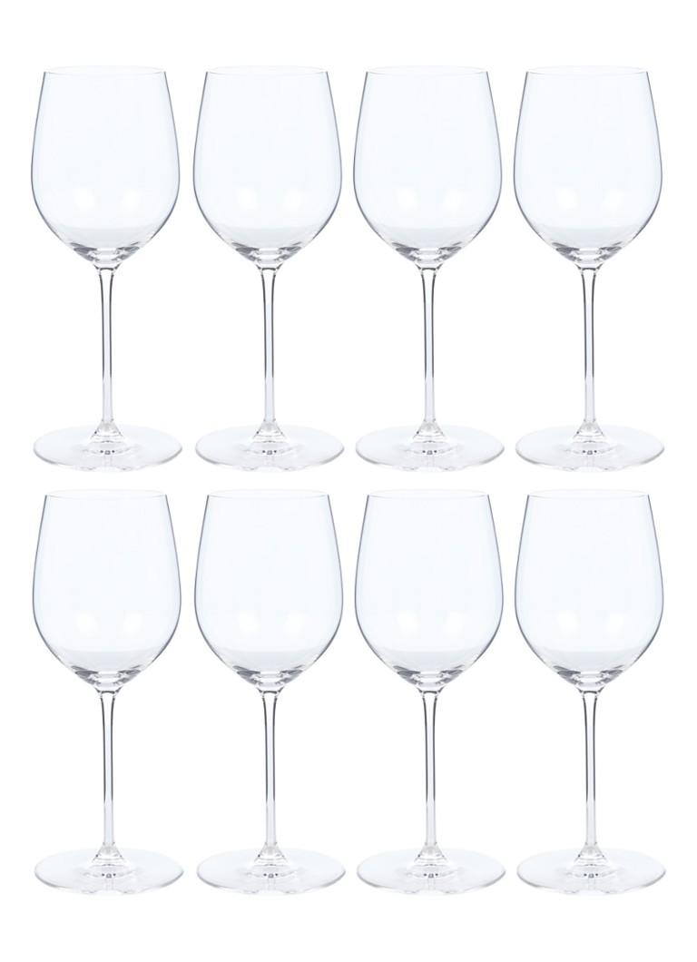 Riedel Veritas Merlot en Chardonnay wijnglas 37 + 62 cl set van 8