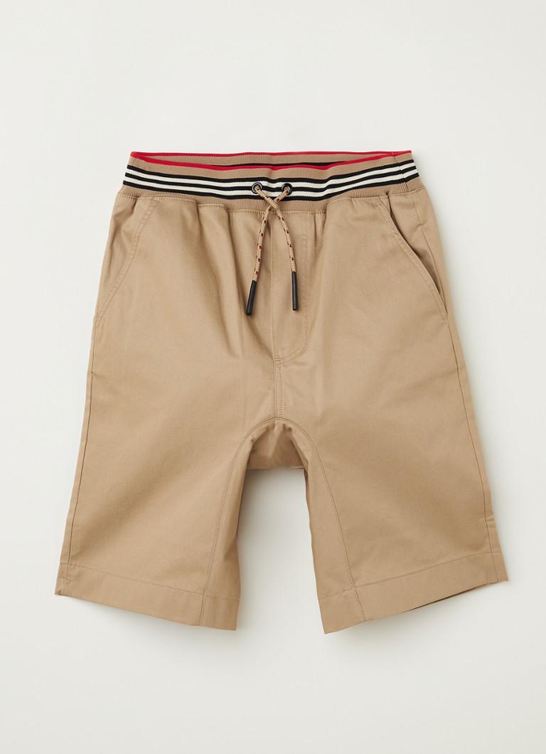 Dilan korte broek met steekzakken en logo